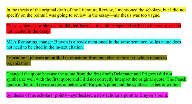 Rhetorical analysis essay organization